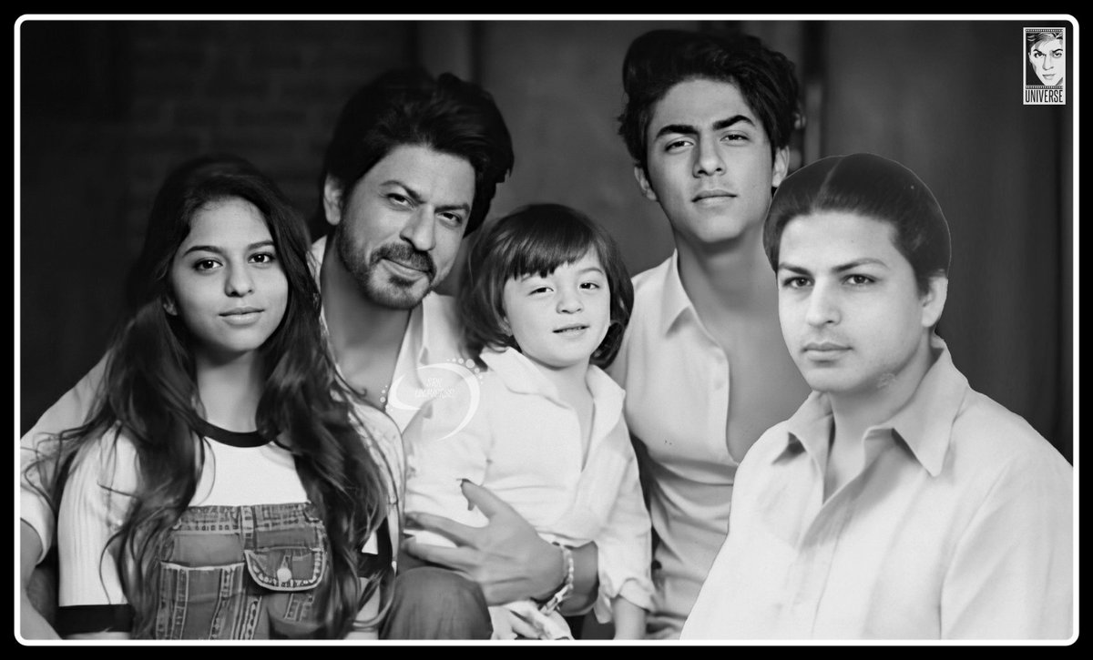 "Father, the powerhouse of the family, the shield that protects us from everything evil, the first one we think of as we hear ""the strongest man"" 💝  Wishing @iamsrk & all you dotting dads a Happy #FathersDay 🙏🏻 #ShahRukhKhan"