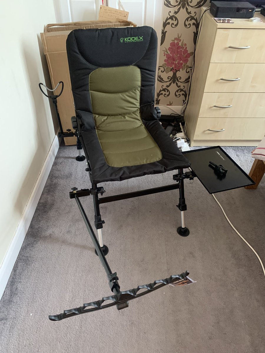 My Father's Day present 🎁 😍 Kodex Robo chair #fishing #carpfishing #FathersDay #love #family