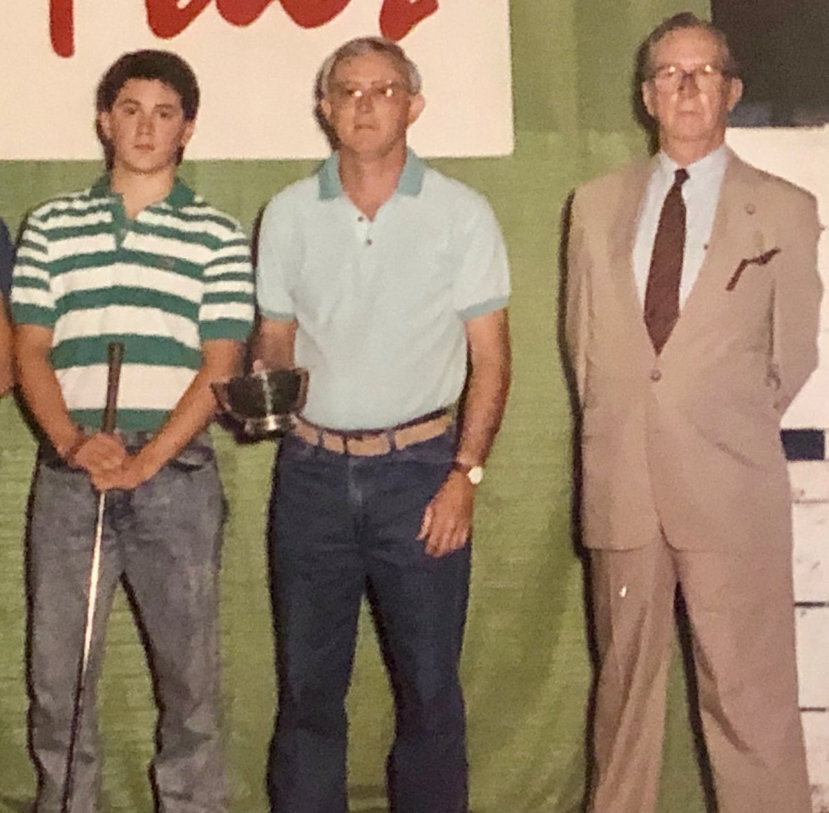 Thinking about my Dad and my Grandfather on this #FathersDay. I miss them both. This picture was taken at the Kentucky State Fair in 1989 after a very successful day of showing Charolais cattle. Happy #fathersday2020 to all the dads & cherish every moment you have together.