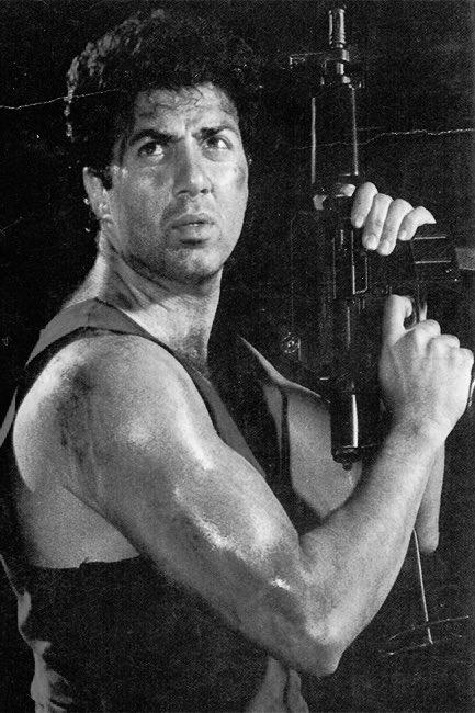 GHAYAL : released 30 years ago on 22nd June 1990  Rajkumar Santoshi's film featuring Sunny Deol's national award winning performance , Meenakshi Sheshadri, Raj Babbar, Amrish Puri & Om Puri.