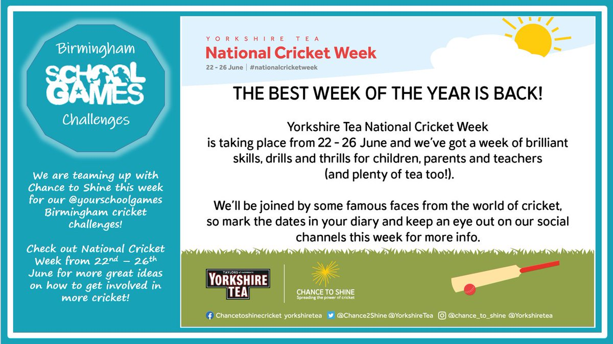 test Twitter Media - This weeks virtual portal tasks are cricket based for cricket week. Good luck everyone. https://t.co/Yv7ldBIBGa