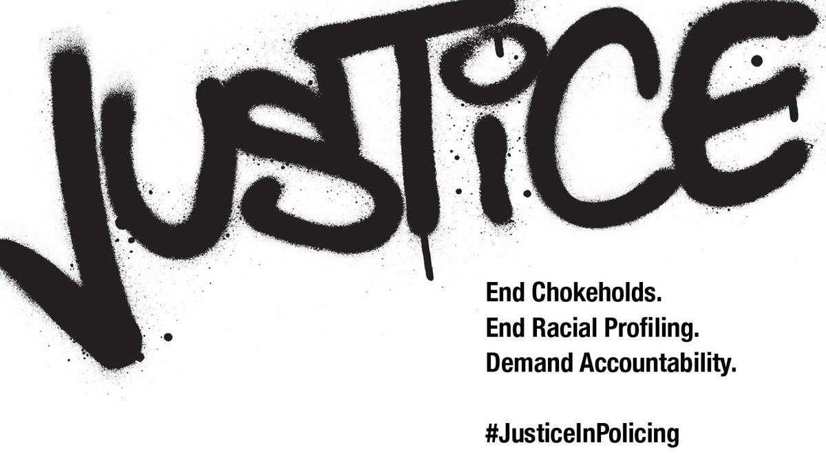 The time is now. Click here to do something:  #JusticeInPolicing #Music4Justice #BlackLivesMatter