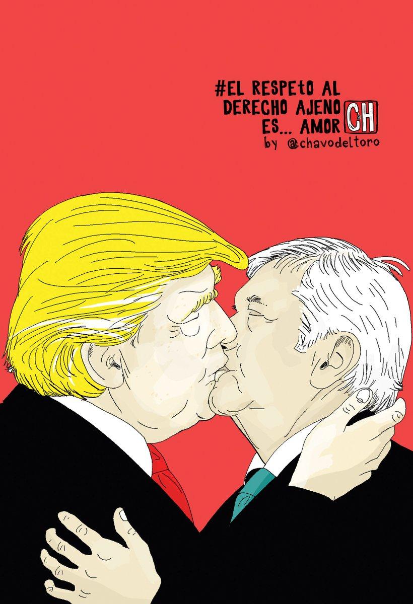 Trump & AMLO... no son tiempos de medias tintas...