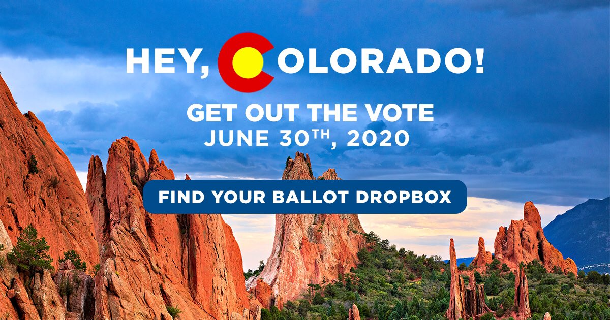 Make sure to turn in your ballot ahead of primary day on Tuesday, June 30th. Find your ballot dropbox here 👉