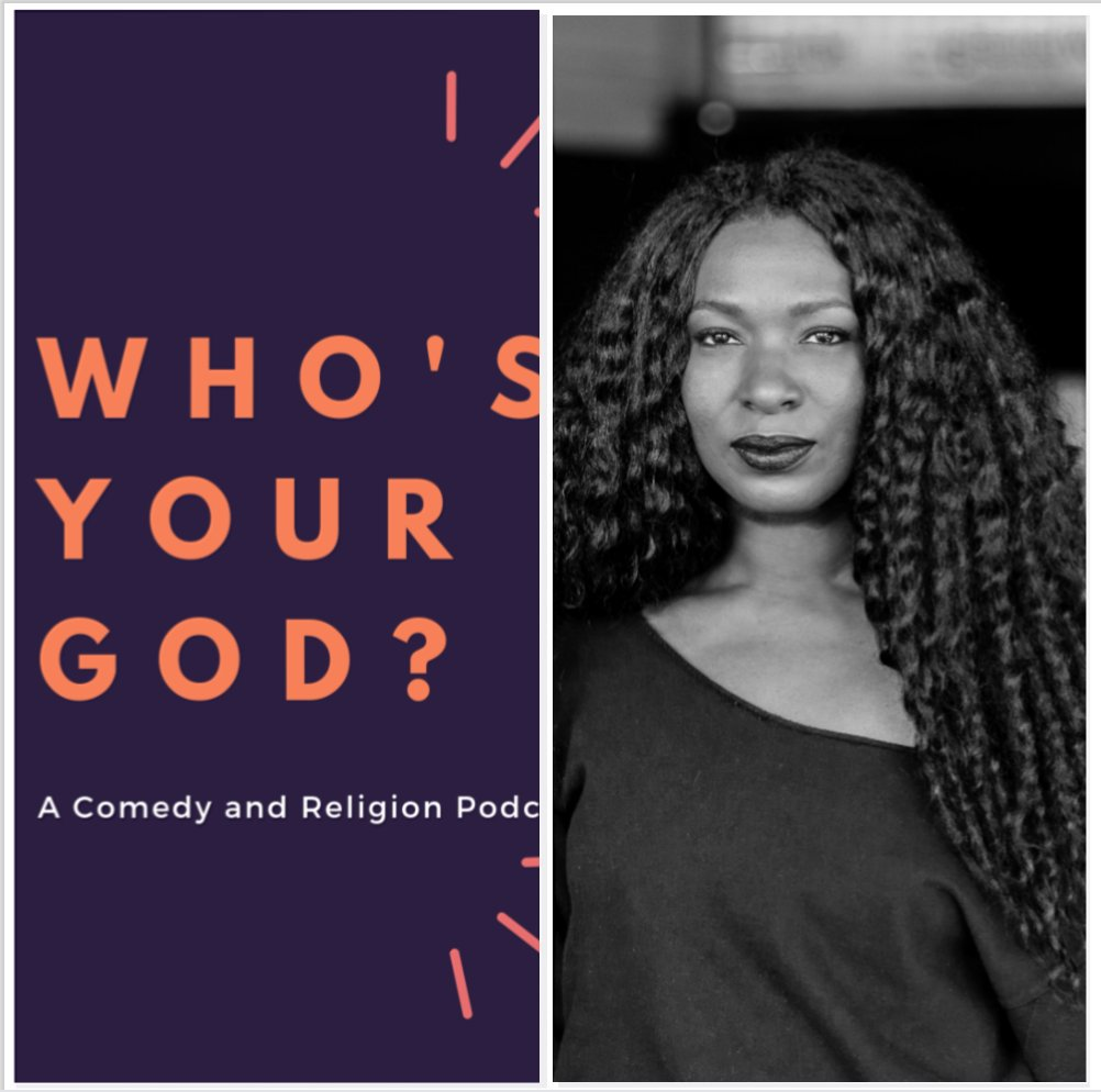 💎 It's @negativenegro (Janae Burris) week on @whosyourgodcast! Talkin' bout speaking in tongues, South Central, dating an older man, sharing joints, and collective energy / the healing power of protest!!💎  Apple:   Spotify: