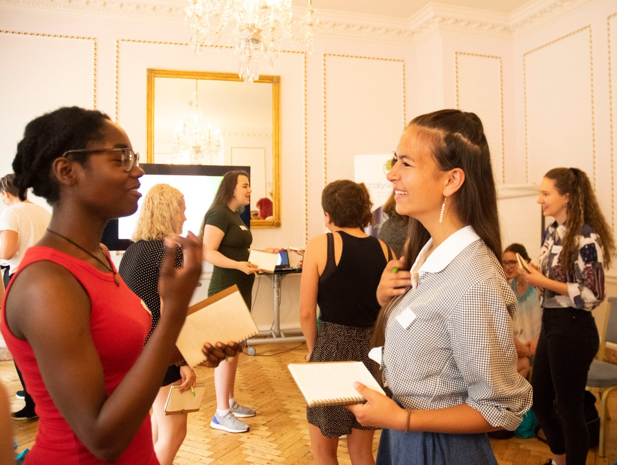 Know any young women who want to make a difference?  Our #CatalystSummit20 is online over 3 days in July and we'd love you to join us. https://t.co/HQePXJGwt2  @SchumacherInst @HawkwoodCFT @BirdgirlUK @avonwt @triodosuk @thriving_places @cabotinstitute @nataliefee @FestofNature https://t.co/sykQXYhmEQ