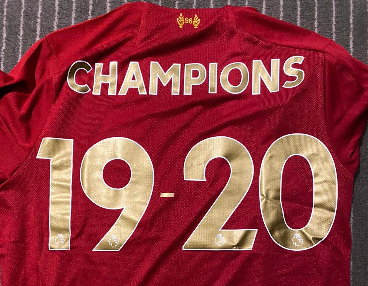30 years Reds! Let's enjoy it! 🏆 Honoured to be part of this team & this club #ynwa #champions #cantwaittocelebratetogether