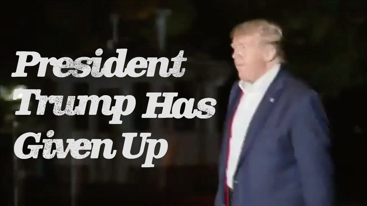 NEW AD: #TrumpGaveUp