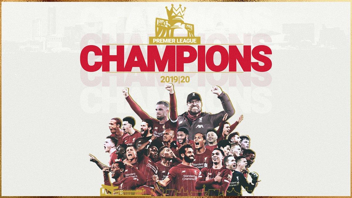 WE'RE PREMIER LEAGUE CHAMPIONS!! 🏆
