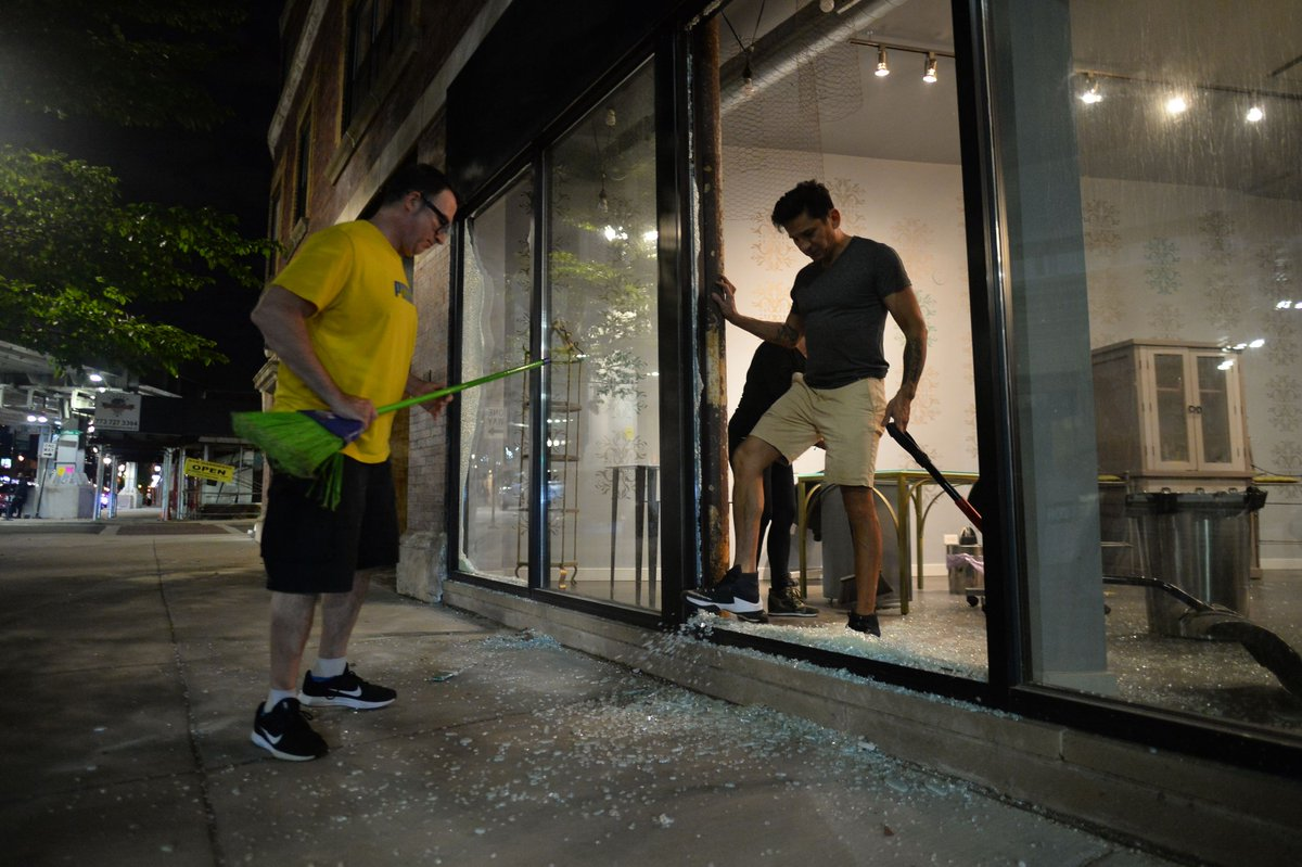 Looting following protests caused $20 million-plus in Cook County damage, state estimates