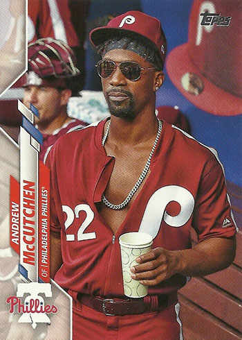 Congrats to @TheCUTCH22 for securing what may be the coolest baseball card ever #Phillies @Topps