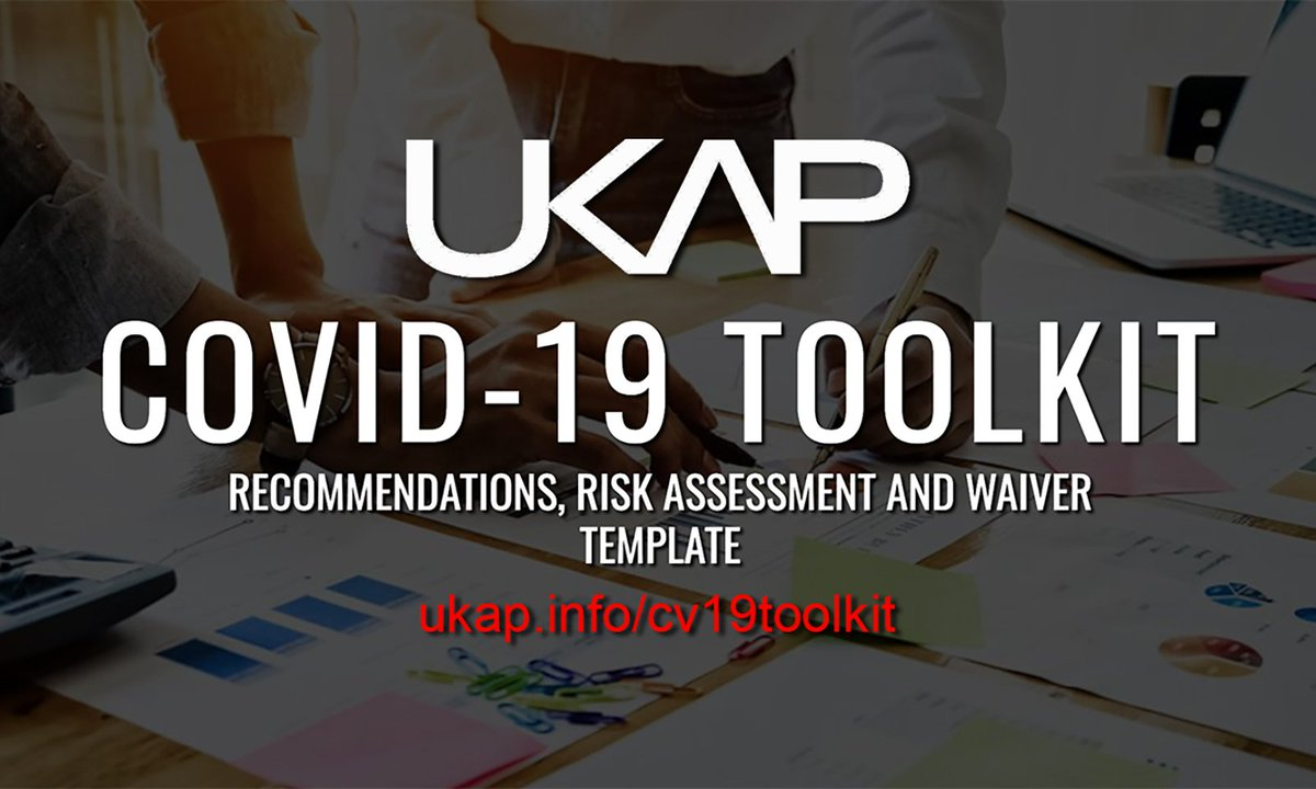UKAP Releases COVID-19 Toolkit to Help Prepare for Reopening  @UKAPHQ