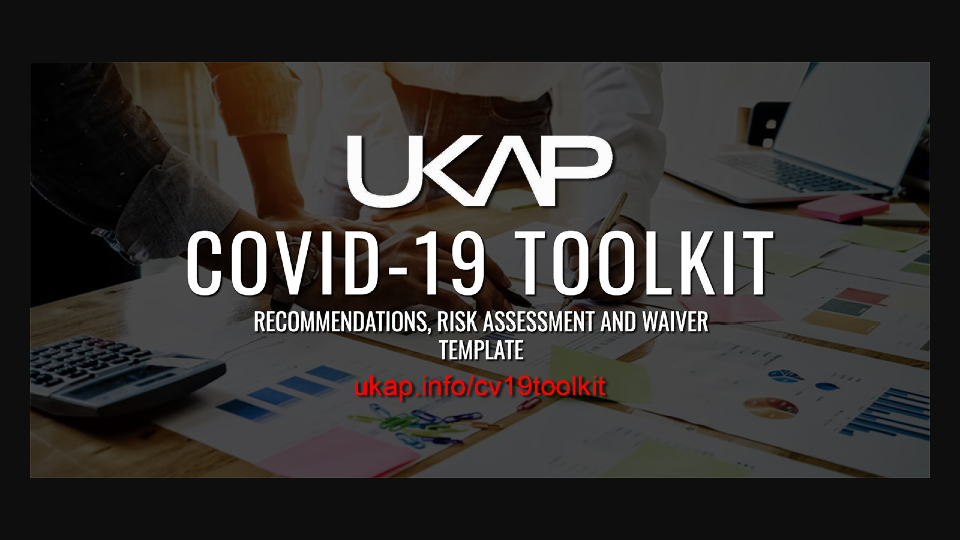 UK Adult Professionals Group Releases 'COVID-19 Toolkit' @UKAPHQ