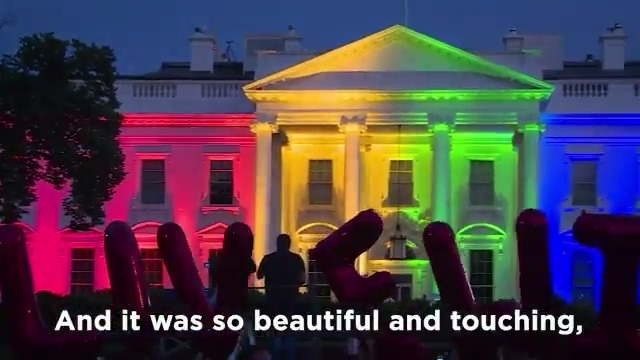 As the sun went down on this historic day five years ago, the White House lit up in brilliant colors—an act that would have stood regardless of the Supreme Court ruling earlier that day.  But as crowds gathered, it became a moment of celebration. Love had won.