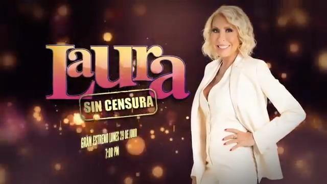 #ContinuamosCon nuevas emociones para ti. Laura Bozzo regresa a la televisión con su nuevo programa #LauraSinCensura. Gran estreno, 29 de junio, 7:00 de la noche por @UnicableOficial 🎬