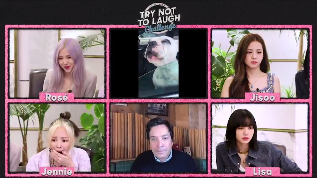 It's time for Round 2 of the Try Not To Laugh Challenge with @BLACKPINK!  #BLACKPINKonFallon