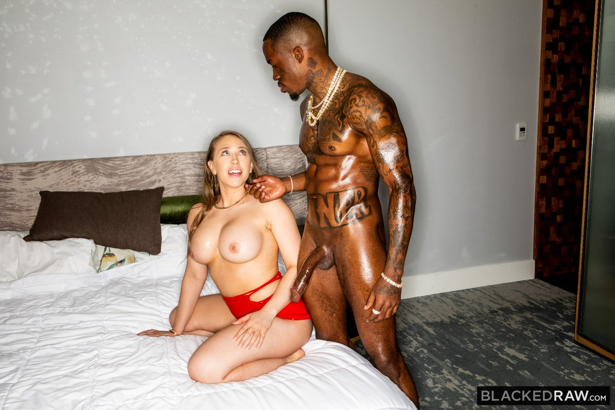 Sensational @kagneythebabe new scene from @blackedraw  .. Great to see she is back!