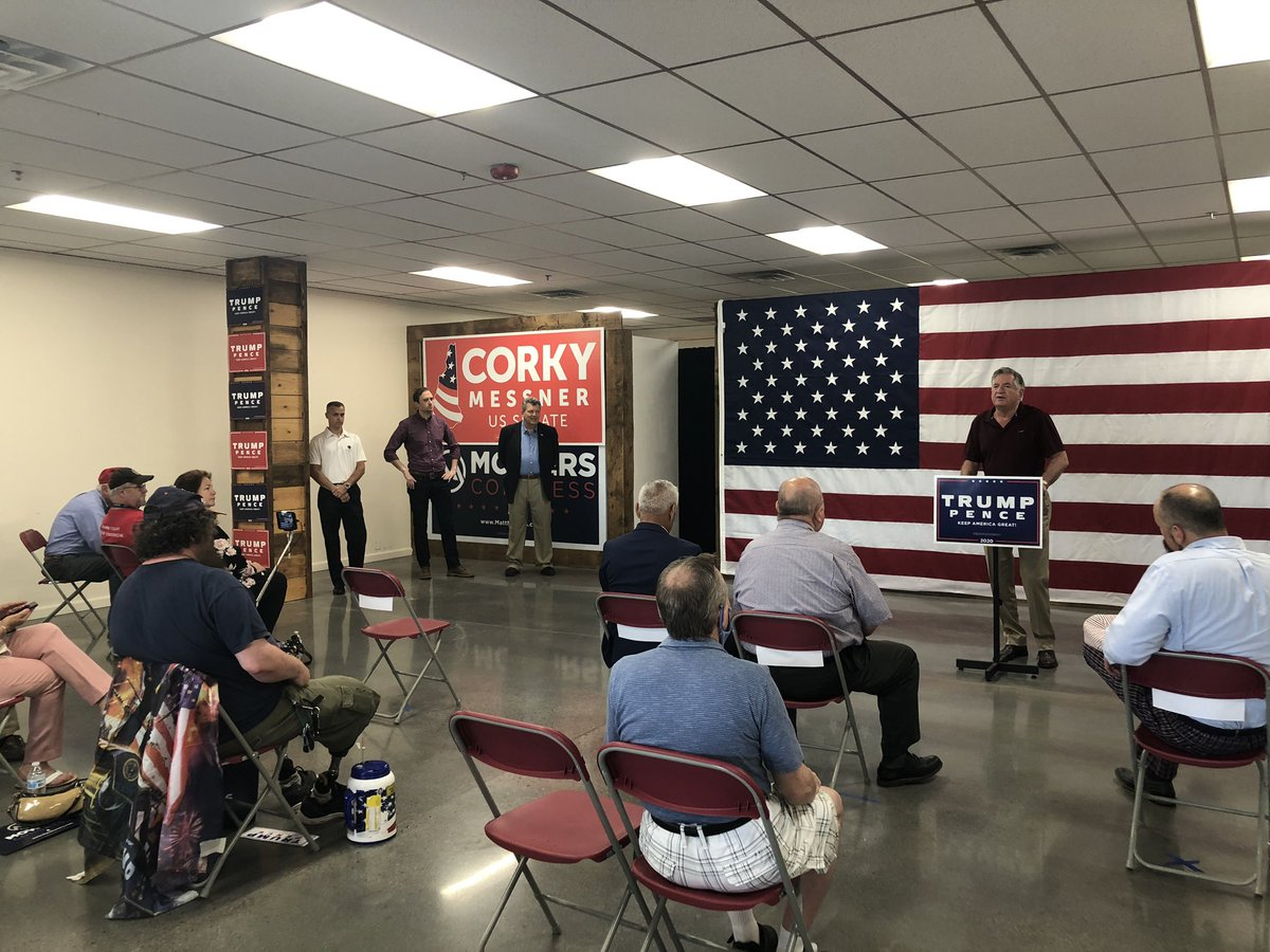 Wow! @NHTrumpVictory office opening and ticket rally is underway! SO many excited supporters are here and ready to get to work to re-elect @realDonaldTrump #nhpolitics #LeadRight