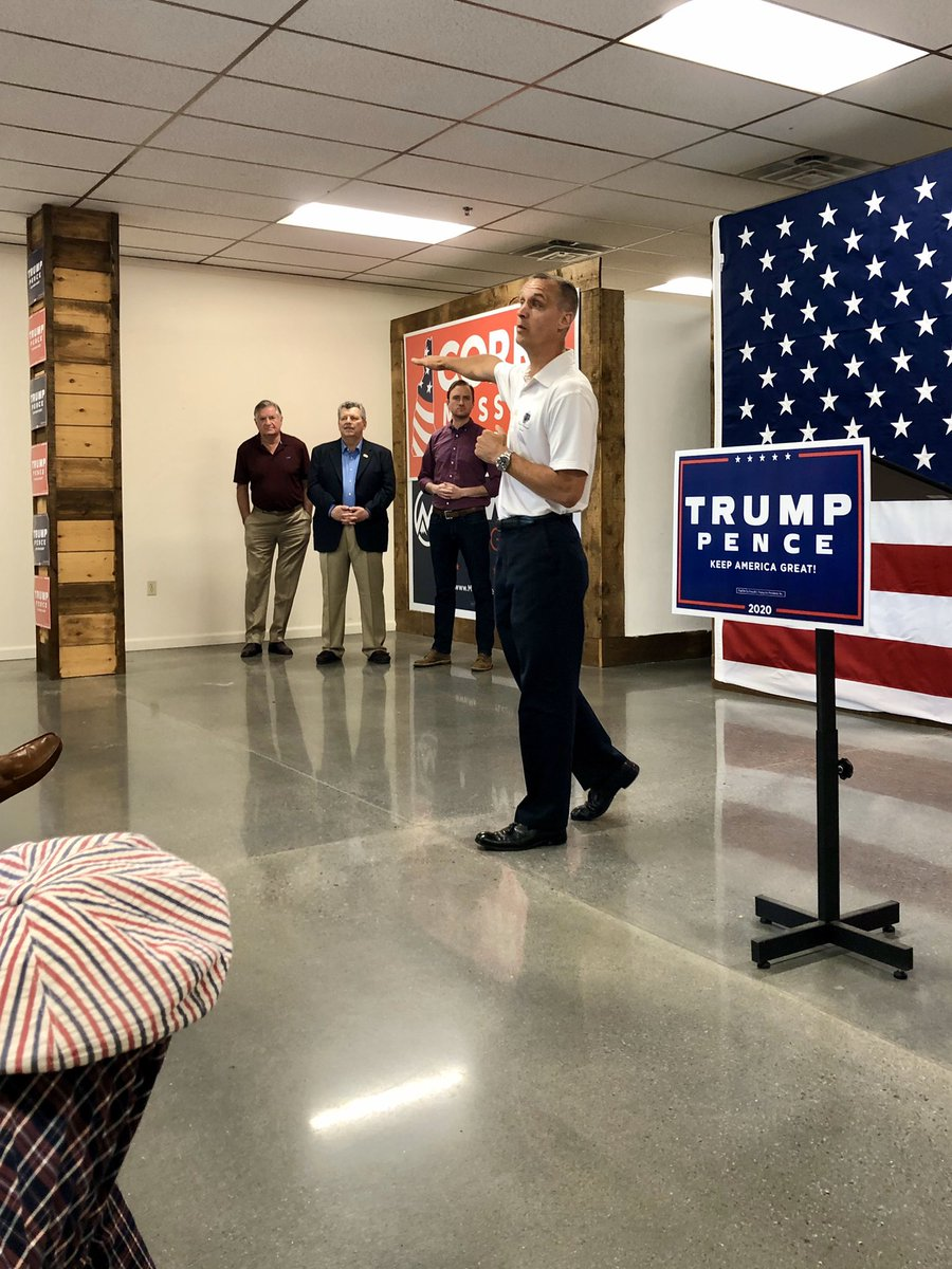 So glad to be with @CLewandowski_, @mowers, and the @NHTrumpVictory Team at the Manchester Office Opening 🎉 this morning!  Thank you to the staff, the volunteers, and all who came out today to support @realDonaldTrump and the N.H. Trump Ticket!  #nhpolitics #NHSen #MAGA
