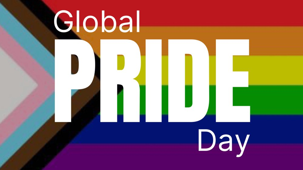 Happy #GlobalPrideDay to our LGBT+ students, staff, alumni & supporters. 🏳️‍🌈🌈❤️  Although we won't be able to celebrate together this year, we want our LGBT+ community to know that we stand with you - today, & everyday.   Click here for more: