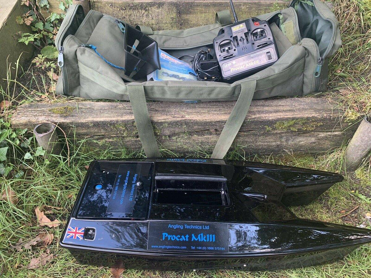 Ad - Angling Technics Procat Mk3 Baitboat On eBay here -->> https://t.co/SaOTcMBVar  #carpfish