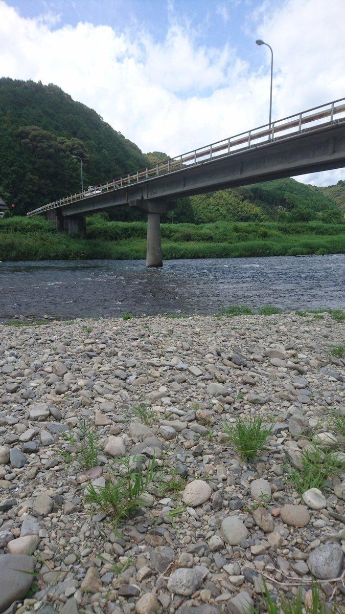 test ツイッターメディア - 水車亭の近くに流れている四万十川です。泳ぎたくなるような清流です。 https://t.co/0knIgwBBTJ