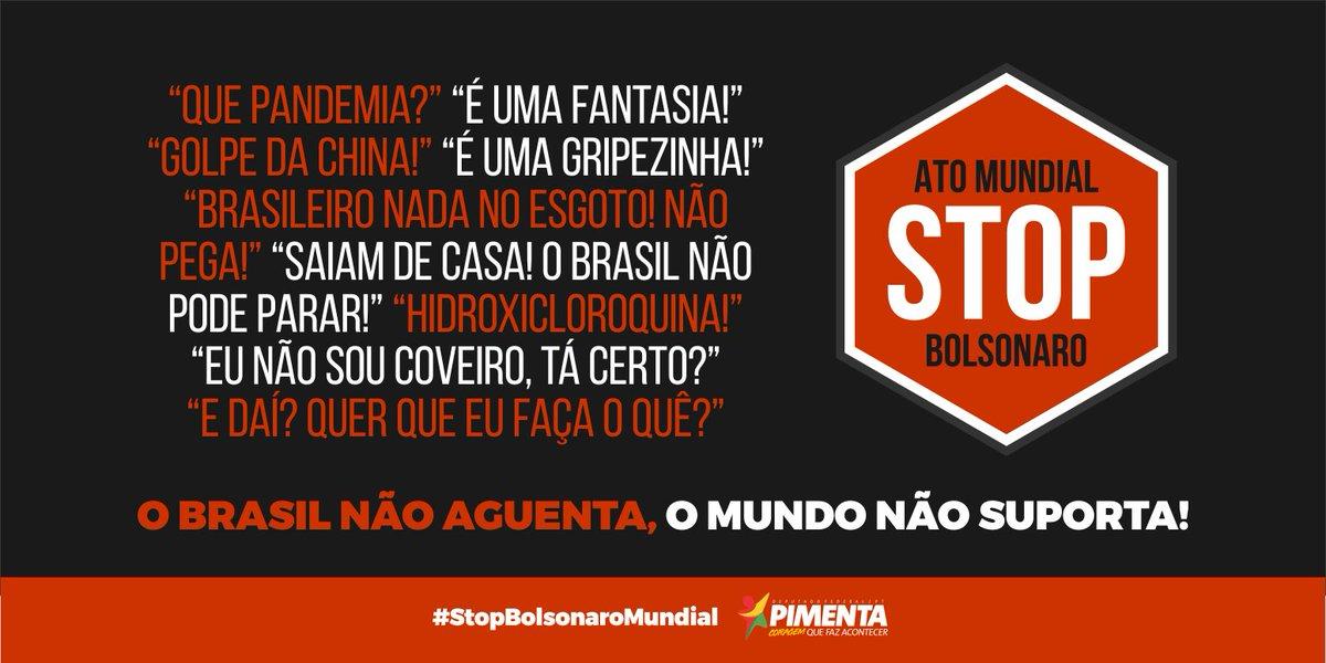 #StopBolsonaroMundial