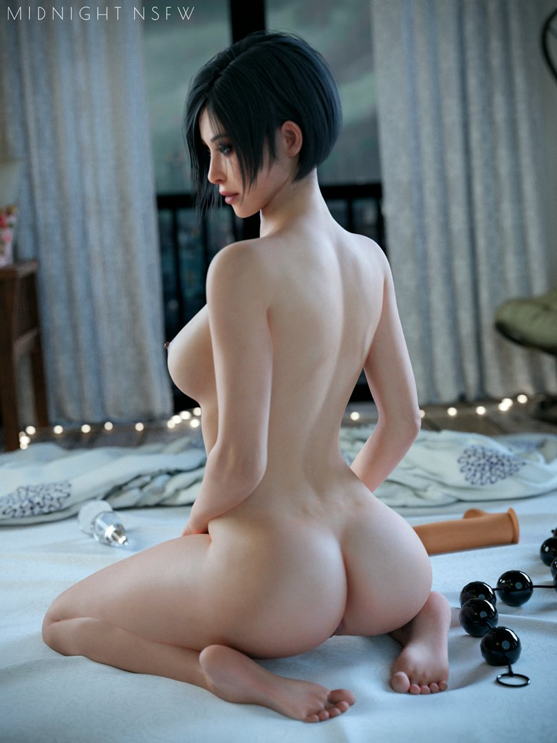 High res, without watermark on my Patreon:   Ada by @Rigid3d  #ResidentEvil2Remake #adawong #nsfw #r34 #Rule34