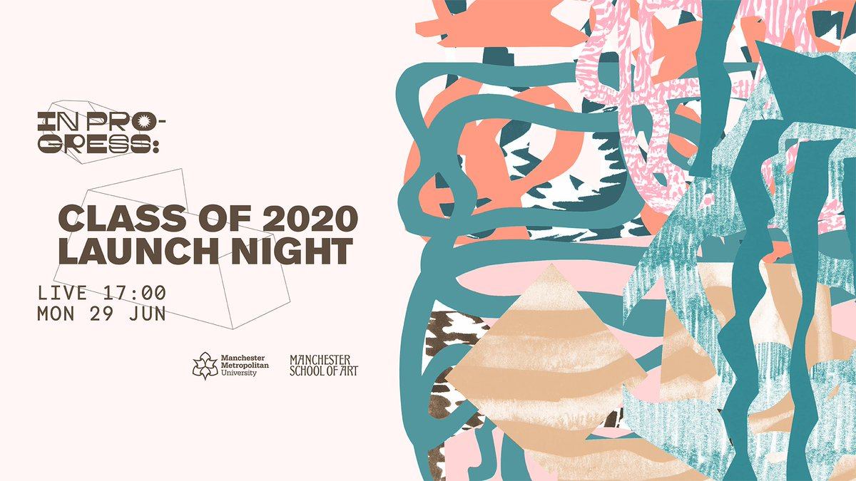 In Progress – Our end of year show celebrating the Class of 2020 launches today!   Join us from 5pm -