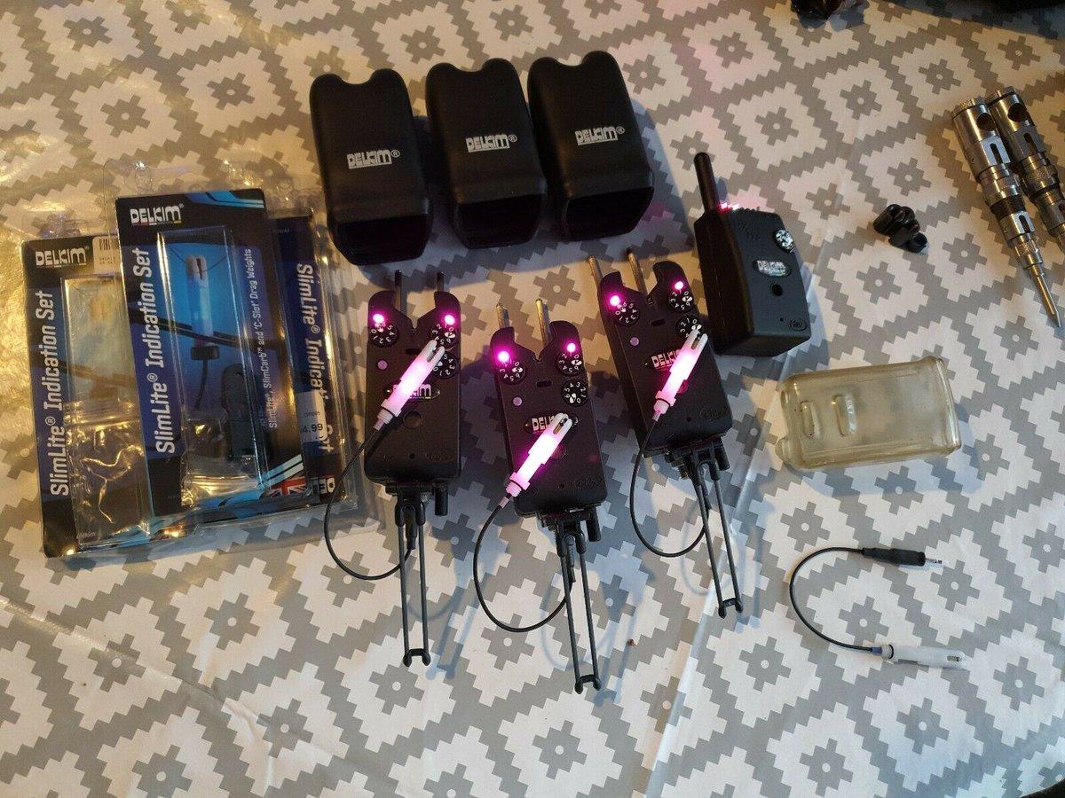 Ad - 3 Delkim TXi Plus purple & 3 Slimlite Set On eBay here -->> https://t.co/xzMqMygRWp