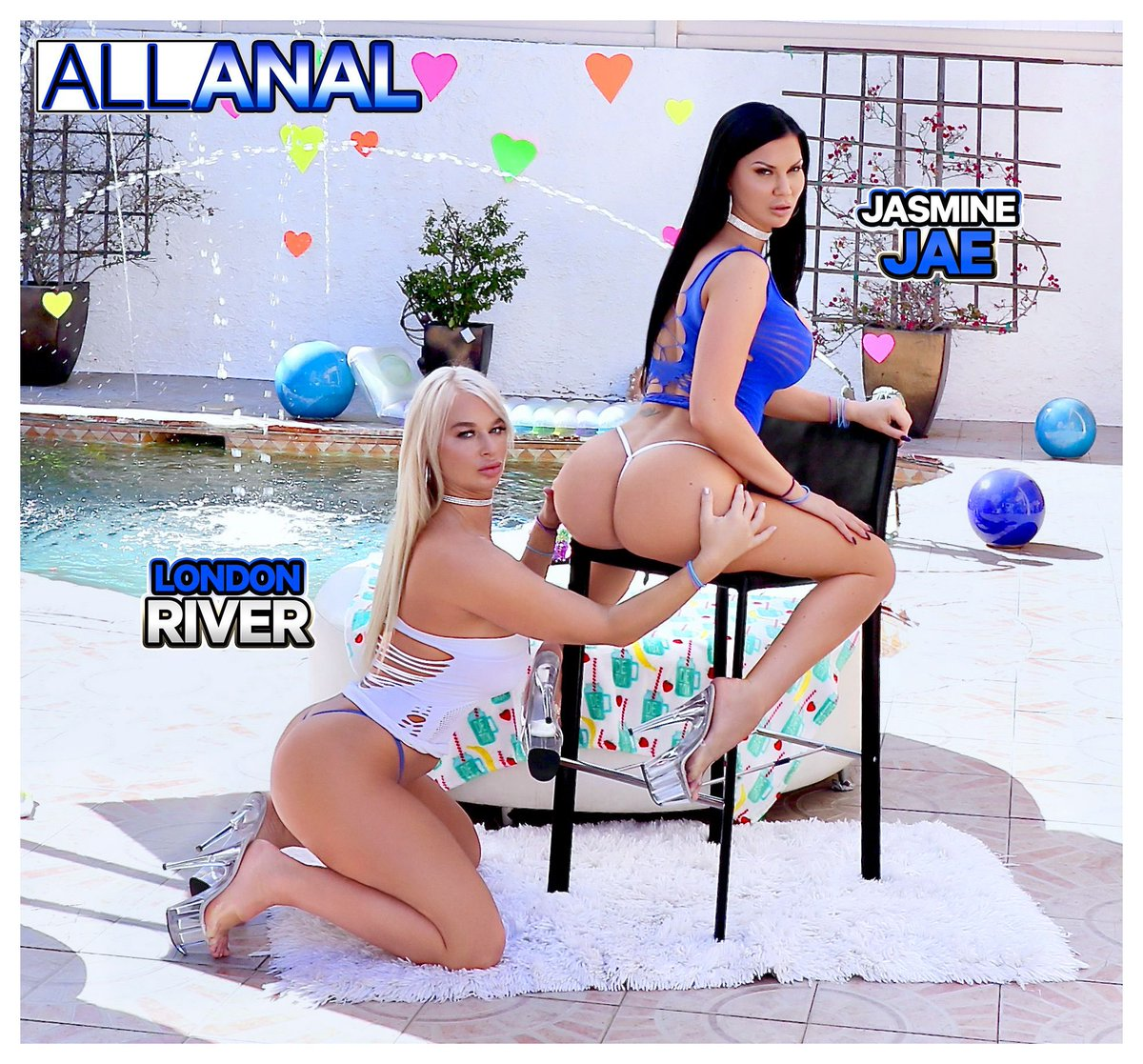 Check out my @AllAnal_com scene with #girlcrush @LondonCRiver 👯♀️ I feel like we do this blonde vs brunette thing SO well & hope we get to do it again soooooooooon 😛😋🥰😛😋😜