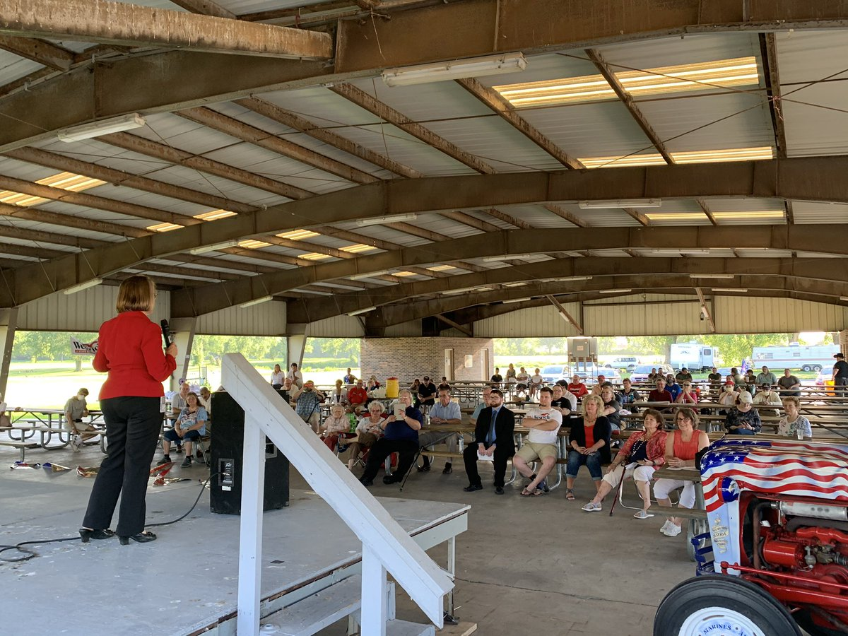 """Great crowd tonight for the Wapello County GOP Declaration reading!  """"We hold these truths to be self-evident, that all men are created equal, that they are endowed by their Creator with certain unalienable Rights, that among these are Life, Liberty and the pursuit of Happiness."""""""
