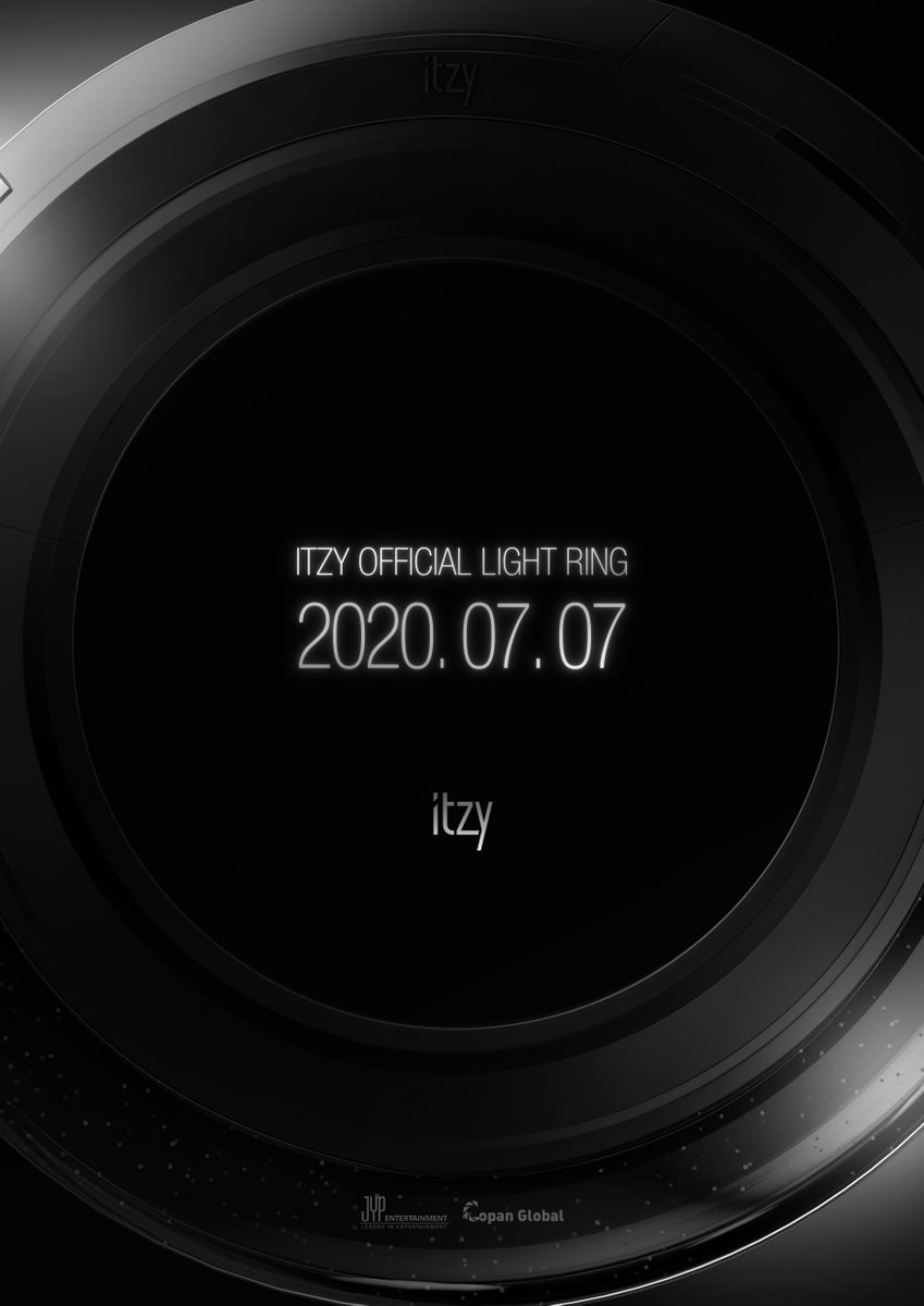 ITZY Official Light Ring  PRE-ORDER STARTS 2020.07.07 TUE 14:00PM (KST)   #ITZY #있지 @ITZYofficial #MIDZY #믿지  #ITZY_LightRing