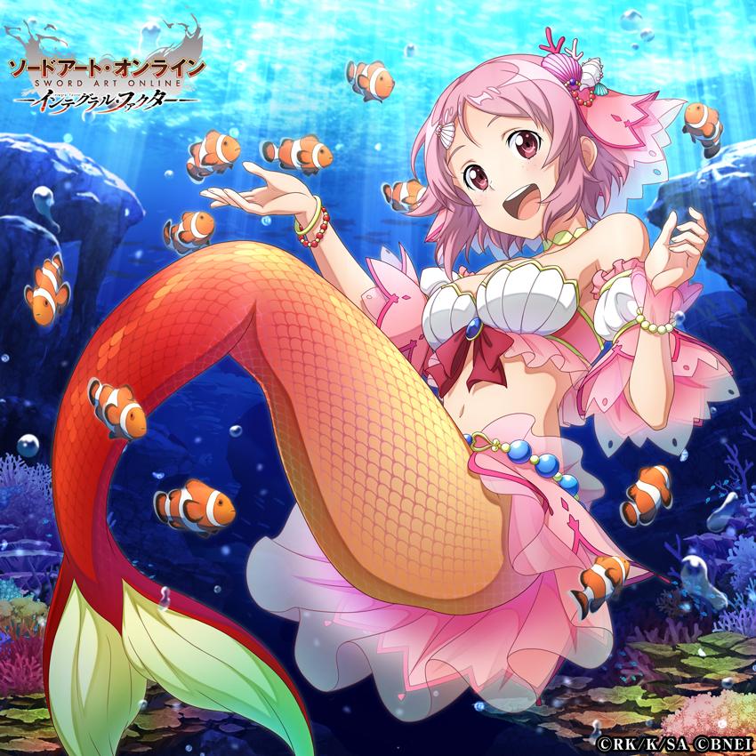 test ツイッターメディア - ■「青い海の人魚姫オーダー第3弾」開催  人魚姿のユウキ、リズベット、シノン、アリスの★新4スキルレコードをピックアップ!  ピックアップスキルレコードのうち、ユウキとシノンは「覚醒」持ち!  初回11回オーダーは《1500アルカナジェム》でチャレンジ可能!  #SAOIF #SAO https://t.co/9XaH75bbZc