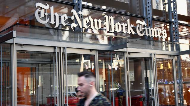 New York Times will no longer appear on Apple News