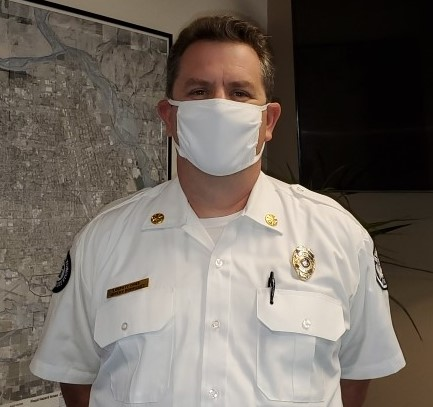 """I wear a mask to protect myself, those that I love, those that I work with, and those that I serve. I wear a mask to set an example for my family, the Fire Department, and our Community. Mask Up to Open Up!"" Deputy Fire Chief Jeremy Rodriguez. #MaskUptoOpenUp #MaskUpWA"
