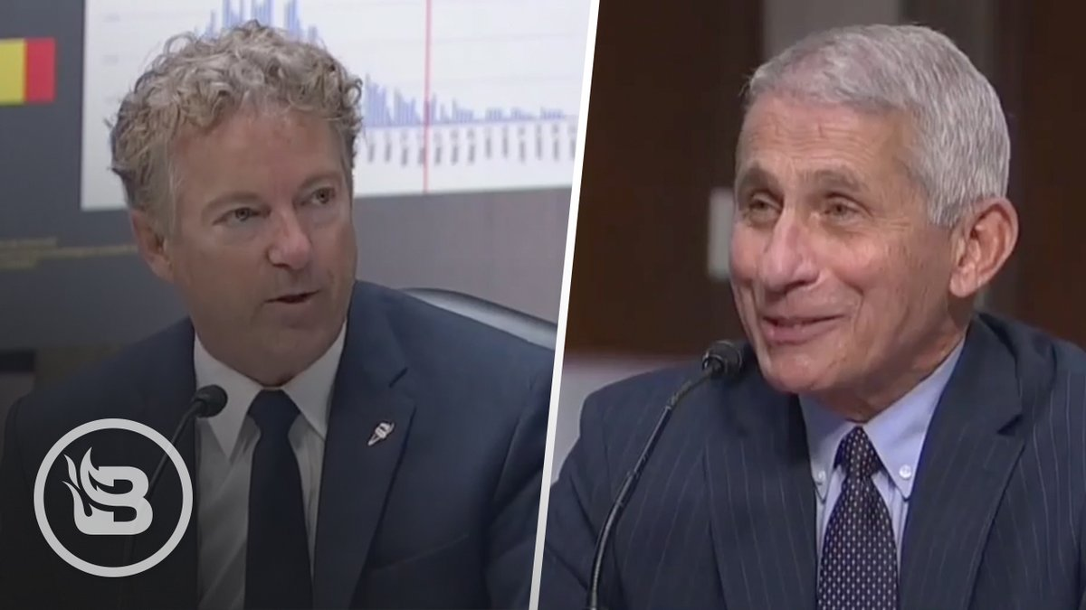 An absolute must-watch exchange between Sen. @RandPaul and Dr. Fauci.   Dr. Fauci's admission towards the end is stunning.