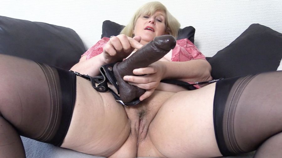 """Hope you liked it, thanks for watching """"Take My Strap on you know you want to."""" on #AdultWork.com"""