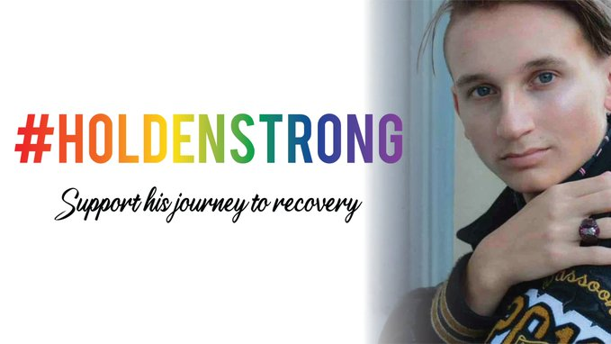 Please support this fundraiser benefiting Holden White, an 18-year-old Louisianan in critical condition with stab wounds in the neck, wrist, and head. It's a hate crime!  Shop now to help this promising college student:  #HoldenStrong #Pride #LGBTQ