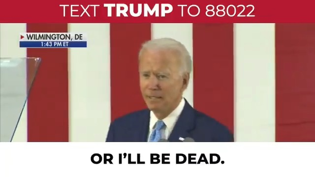 Joe Biden does what his handlers tell him.  They gave him a predetermined list of friendly reporters to call on.  They are so afraid of him going off script!