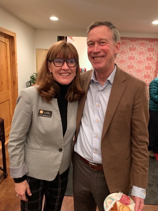 Feeling strong #TeamHick! I am proud to have served under Gov. @Hickenlooper and look forward to calling him Senator. Let's join together and take back the Senate in November! #Vote2020 #Election2020 #COPolitics
