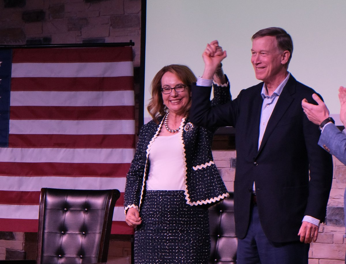 Congrats to my friend John @Hickenlooper on winning your primary today in Colorado! I look forward to working together in the Senate to make our communities safer. #GunSafetySenate