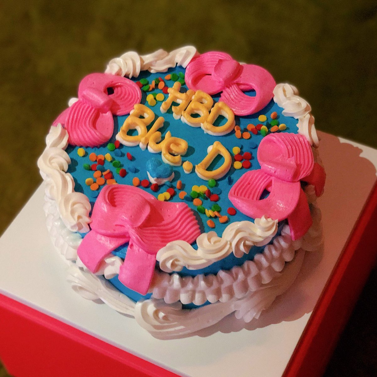 HAPPY BIRTHDAY Blue.D💙 ⠀ #블루디 #BlueD #YGX #YG