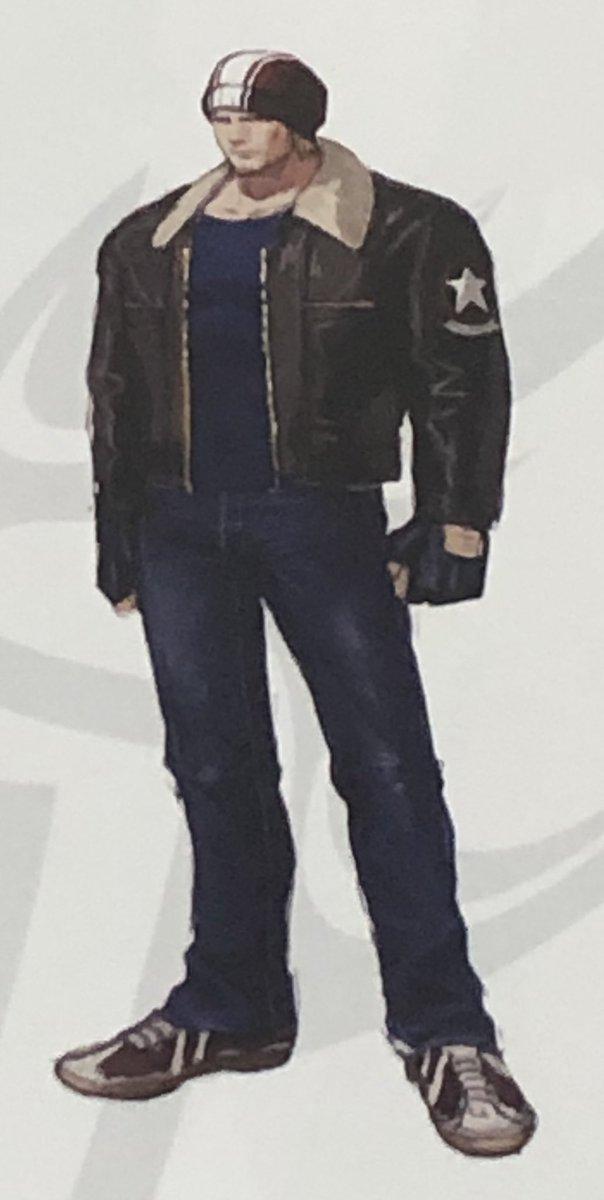 test ツイッターメディア - KOF14小噺④ テリー衣装案。ダンディー☺️ 途中からハリウッドスターみたいな顔立ち。15はどんな衣装になるのやら…… #KOF14 https://t.co/zu3PGbOCoA