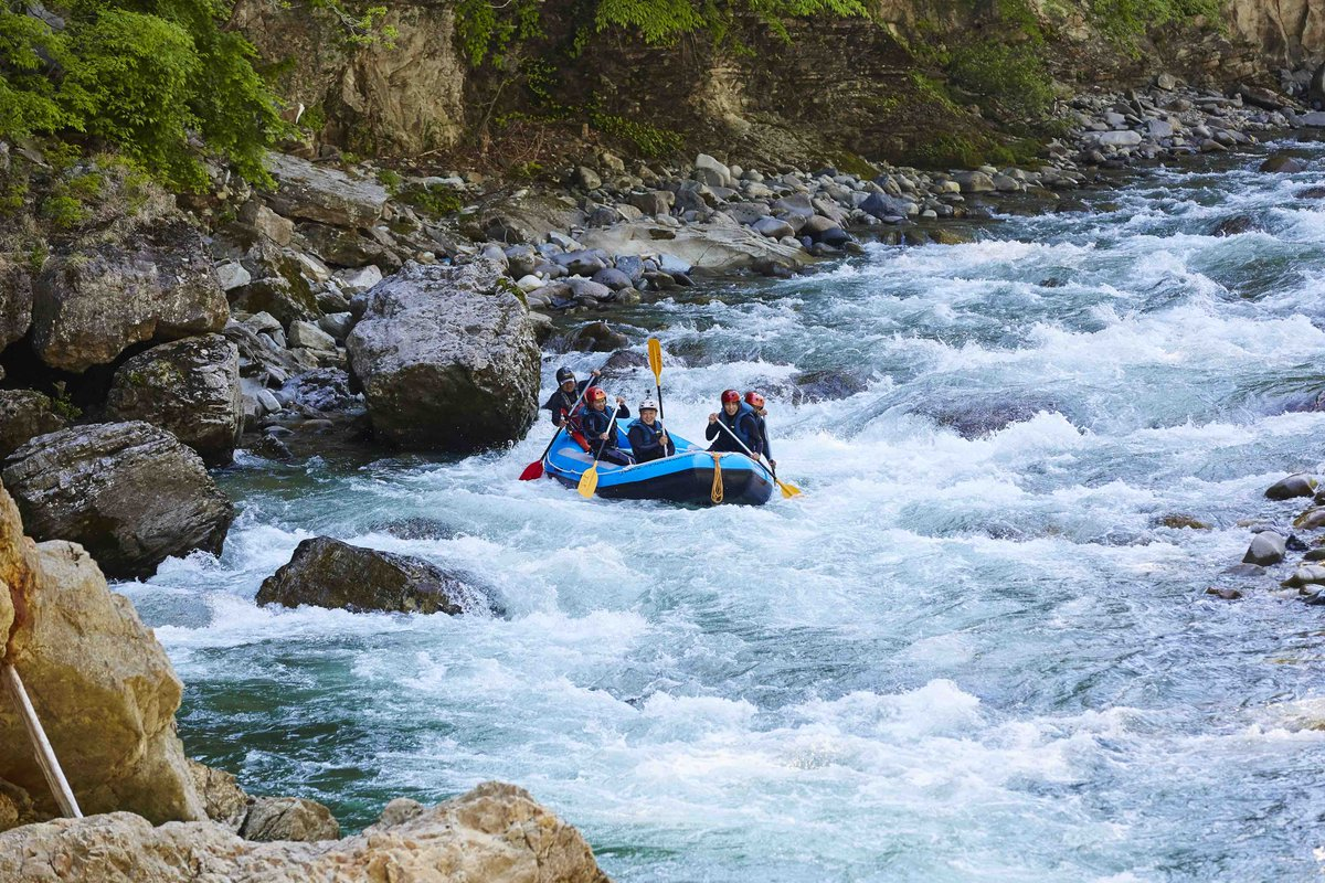 Some of the best and most beautiful white water rafting in the world is in #IyaValley, #Tokushima and in #ToneRiver, #Gunma. It's the most exhilarating way to enjoy the nature of summer in Japan.