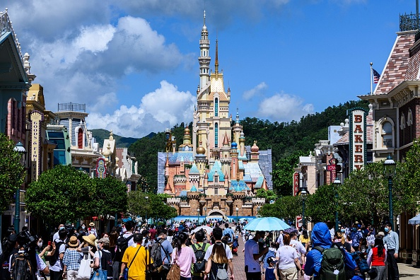 JUST IN: Less than a month after reopening, Hong Kong Disneyland is closing once again amid a new COVID-19 outbreak in China
