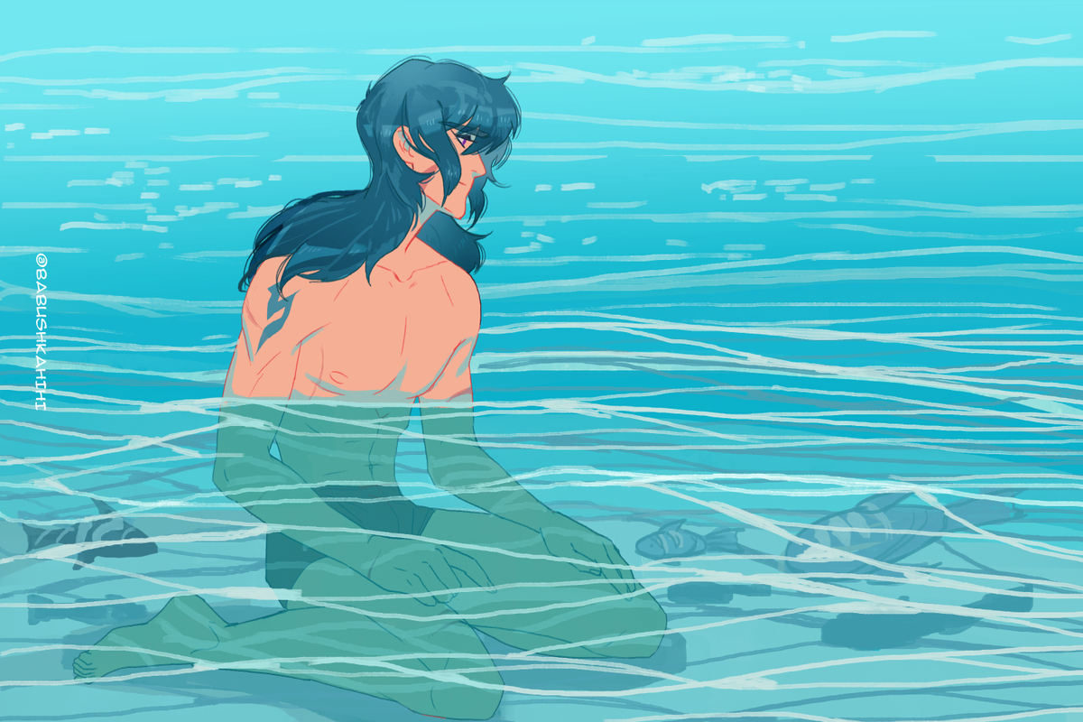 10 am local time 377 day expedition The planet of the oceans is beautiful. But I painfully miss you, Shiro. Your Keith #keith #sheith