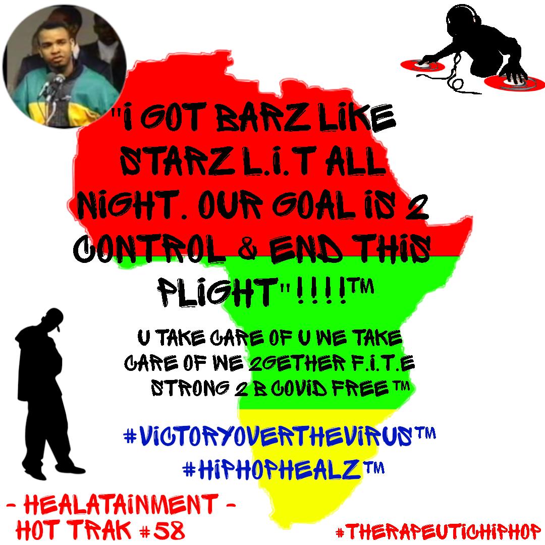 Healatainment presents Victory Over the Virus!!!!!!! #BlackLivesMatter #infectiousdisease #coronavirus #covid19 #pandemic #hospital #socialdistancing #love #isolate #quarantine #PPE #NIH #vetodavirus #Apex #FlattenCurve #Health #Wellness #HipHopHealz #VictoryOverTheVirus
