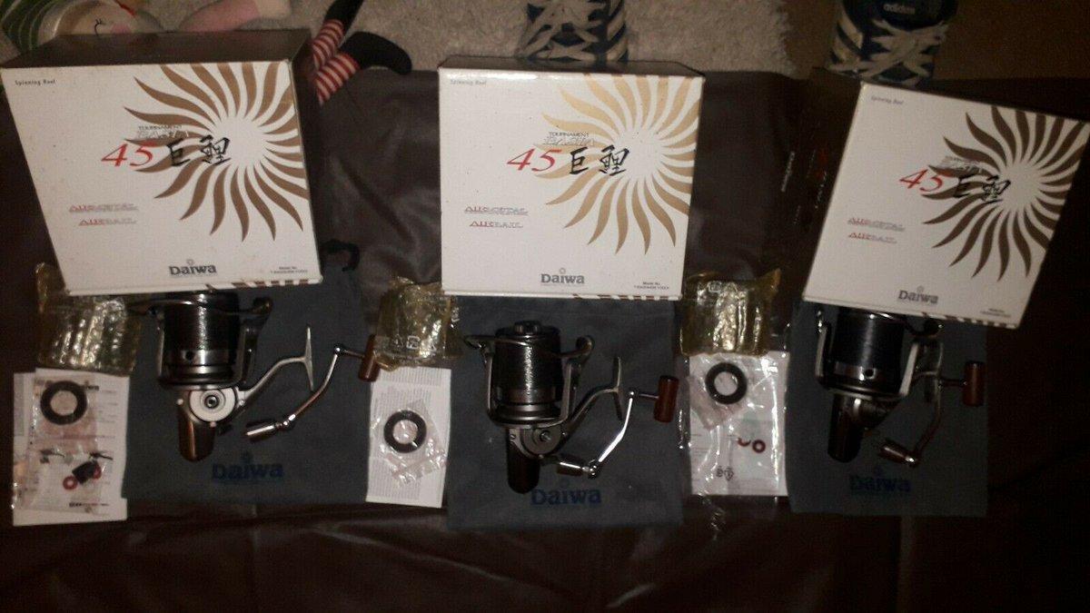 Ad - 3 x DAIWA TOURNAMENT BASIA 45 QDA On eBay here -->> https://t.co/aA6rhvpLhH  #carpfishing