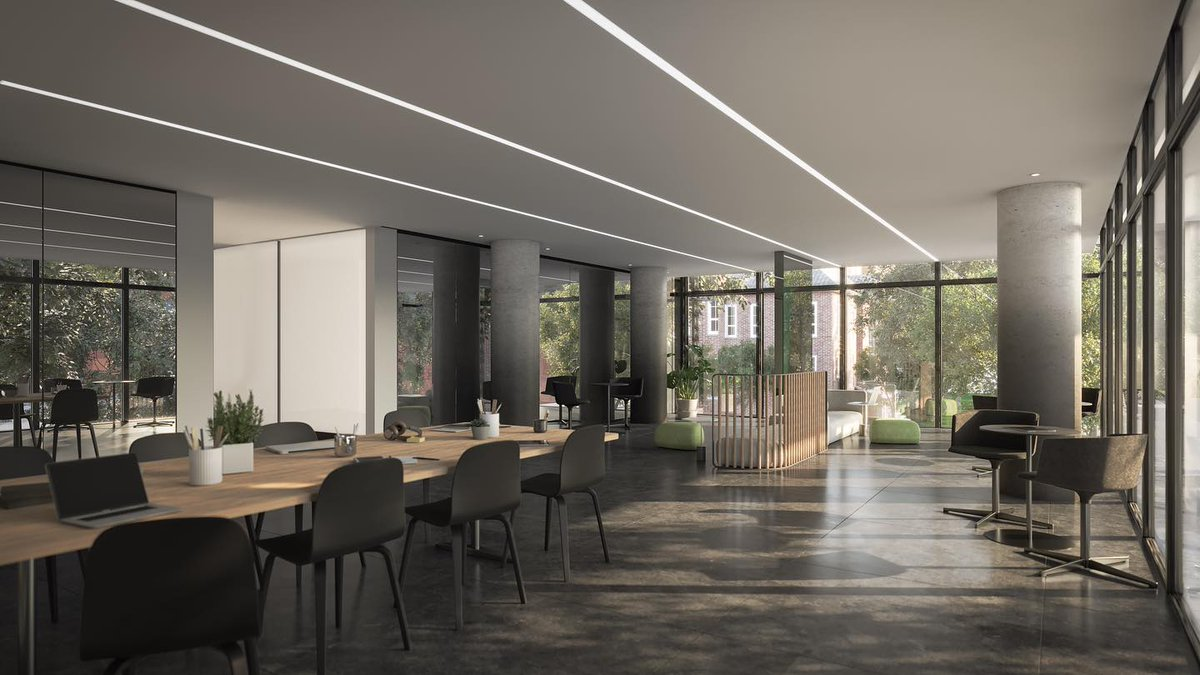 The amenities at 28 Eastern have been thoughtfully planned to meet your needs. With working from home being more important than ever, our inspiring Co-working Space is the perfect place for students and professionals alike to get work done and keep focused.